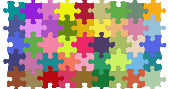 Image of coloured jigsaw pieces all locked in place.