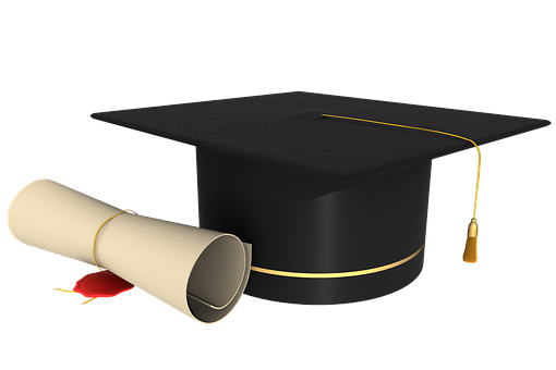 Image of the cap and scroll an undergraduate dreams of.
